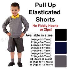 Shorts noirs pour garçon de 2 à 16 ans