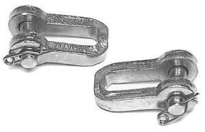 TRACTOR CHECK CHAIN CLEVIS PAIR FORD 9N 2N 8N NAA 600 800 2000 APN582A