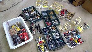 Huge Lot of Vintage Radio Electronic Parts Resistors, transistors, tubes, etc.
