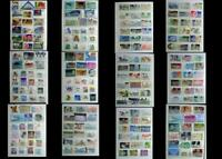 Large & All Different Postage Stamp Collection From United States, Free Shipping