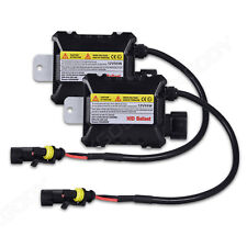 2x 55W HID Kit Replacement Xenon Ballast H1 H4 H7 H11 9006 9005 Slim DC 12V