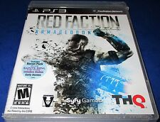 Red Faction: Armageddon PS3 w/ Bonus DLC (Recon Pack) *New-Sealed-Free Ship!