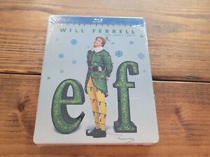 Elf (BLU-RAY) Steelbook Brand NEW Limited Edition Sealed Will Ferrell Christmas
