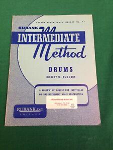 Rubank Intermediate Method - Drums (Paperback)