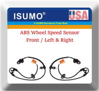 2 x ABS Wheel Speed Sensor Front Left & Right Fits:MDX 2001-2006 Pilot 2003-2008