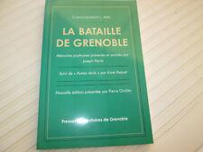 La Bataille de Grenoble - Histoire des Groupes Francs grenoblois   .