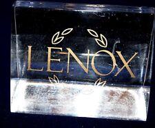 Lexon Dealer Plexiglas Display Sign for Glassware Sales