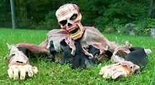 Brand New Animated Escape From The Grave Zombie Halloween Prop