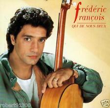 CD audio.../...FREDERIC FRANCOIS.../...QUI DE NOUS DEUX.......