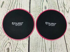 Aduro Sport Exercise Sliders for Fitness Workout 2PK Double Sided Gilder Stre