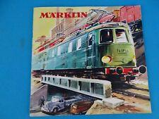 Marklin Katalog Catalog 1958 NL