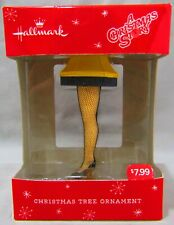 Hallmark A Christmas Story Leg Lamp Ornament Mint In Box