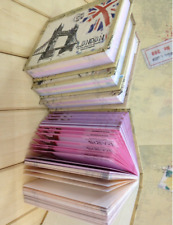 1 Pack = 100 Pages Vintage World Scene Design Writing Memo Note Pad