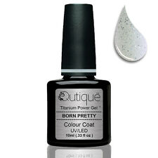 QUTIQUE Gel Nail Polish Colour -BORN PRETTY -UV & LED -halo graphic sparkle