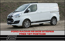 Ford Transit Custom RS Side Stripes Sport Racing Connect Focus Style