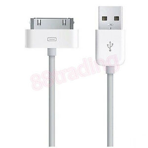 OFFICIAL GENUINE ORIGINAL USB DATA TRANSFER CHARGER CHARGING CABLE FOR 30 PINS