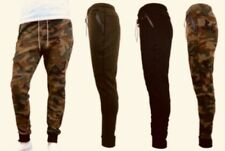 Galaxy by Harvic Men's Jogger Slim Fit Tech Fleece Woodland Sz S New