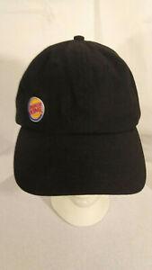 Burger King Have It Your Way Logo Cap Leather Strapback Baseball Hat