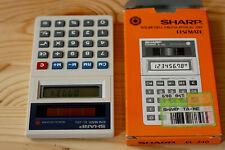 SOLAR ELSI MATE CALCULATOR SHARP EL-240 Taschenrechner Vintage OVP EL 240 80er