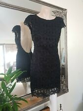 TIGERLILY black  lace cocktail dress Sz6au,Sz4us.Exc cond