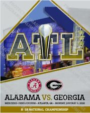 2018 COLLEGE NATIONAL CHAMPIONSHIP PROGRAM GEORGIA BULLDOGS VS. ALABAMA CRIMSON