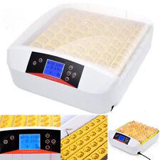 56 Eier Vollautomatisch Inkubator Brutkasten Brutapparat Brutmaschine Ente Huhn