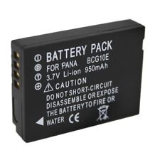 2x New Decoded Battery For Panasonic DMW-BCG10E LUMIX DMC-TZ7 DMC-TZ30 Camera