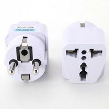 Protable UK US AU to EU AC Power Plug Travel Charger Adapter Outlet Converter