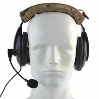 Advanced Modular Headset Cover Molle Headband For General Earmuffs Camouflage