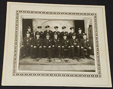 1953 - POLICE OFFICERS and FIREMEN POSING - LONGUEUIL, QC, CANADA - PHOTO