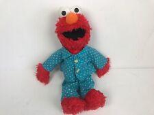 Elmo Pajamas Plush Plushie Sesame Street 2014 Pre Owned Hasbro