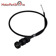 """New Dirt Bike Choke Cable Assembly For YAMAHA PW50 Length 74cm/29""""Black"""