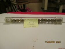 "Marbles-Tube of 16-Clay Marbles#43-.505""-.558""=12.83mm+/-"