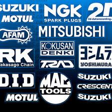 32pc GSX-R MotoGP Belly Pan Lower Fairing Sponsor Decals Stickers SUZUKI Bike