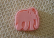 QTY 2   ELEPHANT ANIMAL SOAP OR PLASTER MAGNET CEMENT MOLD 4536 Moldcreations