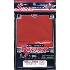 KMC KMC Metallic Red Sleeves (80) MTG / POKEMON/ WOW