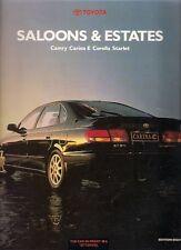 Toyota Starlet Corolla Carina E Camry 1994 Edition 8 UK Market Sales Brochure