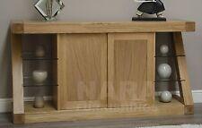 Zaria solid oak designer furniture large sideboard living dining room