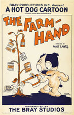 Walt Lantz The Farm Hand 1927 cartoon poster 24x36 inches