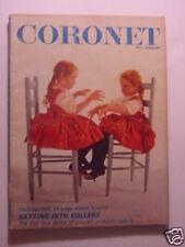 CORONET January 1961 JACKIE COOPER JOHN GROTH American Heroines ANARCTICA +++