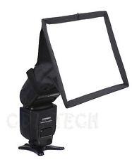 15 x 17cm Portable Flash Diffuser Mini Flash Softbox Kit For DSLR Speedlite