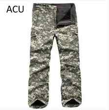 Hot Men's Military Casual Outdoor Soft Shell Waterproof Camo Pants Hunt Pants