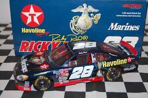 Ricky Rudd #28 Havoline / Marines Ford Taurus 00 1/24 NASCAR Die-cast