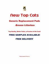40 Top Cat Pads genéricos para la caja de arena de Breeze Litter MUESTRAS LIBRES