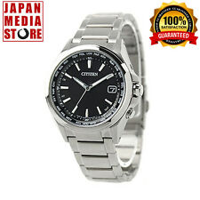 Citizen Attesa  CB1070-56E Eco-Drive Atomic Radio Titanium Watch - 100% JAPAN