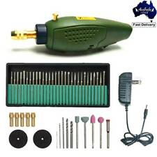 Electric Engraver Carving Engraving Pen Tool Wood Metal with 30pcs Drill Bits