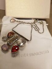 Atelier Swarovski Nile Pendant Necklace Pink Crystal #5298717