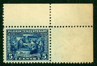 USA 1920 Pilgrim Tercentenary 5¢ Scott #550 MNH J957 ⭐⭐⭐⭐⭐⭐