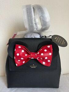 NWT Kate Spade X Minnie Mouse Small Neema Bow Backpack WKRU6608 Original Packagi