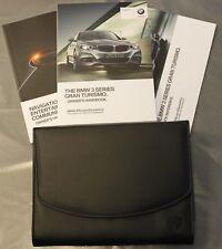BMW 3 SERIES GRAN TURISMO F34 HANDBOOK OWNERS MANUAL NAVI 2013-2017 PACK 11827